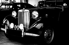 Ink Classic (relishedmonkey) Tags: auto old white black classic monochrome lines car ink vintage nikon dubai uae engine headlights front vehicle legend 2016 d5300 emiratesclassiccarfestival