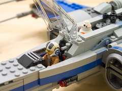 Lego 75149 Resistance X-Wing (Yuxuan.fishy.Wang) Tags: california us starwars unitedstates lego sanjose xwing bb8 75149