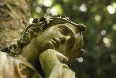 Bergfriedhof  (Heidelberg), Germany (maria_vladimirskaya) Tags: friedhof cemetery trauer memory germany graveyard regen  engel angel rain