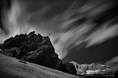 Hochknig Infrared Pt. II (guenther.s_photo) Tags: longexposure sky blackandwhite bw mountain mountains alps salzburg alpine infrared bnw hochkoenig pongau salzburgerland hochknig