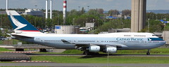 Boeing 747-467 B-HOR (707-348C) Tags: paris degaulle lfpg cdg boeing747 b744 boeing airliner jetliner cathaypacific passenger bhor cpa