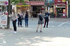 People in Hamburg, Germany (Pegasus & Co) Tags: street city people haven port germany deutschland candid hamburg allemagne hambourg ville vlo nord altona gens streetshot sanktpauli habitant