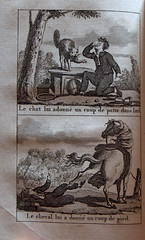 accidents_de_lenfance_gravures1 (BiblioMab) Tags: animal accident maison enfant prevention morale ducation gravure scurit estampe livreancien livrepourenfant accidentsdomestiques