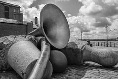 Liverpool Horn (MaraChimp) Tags: liverpool docks boats boat dock albert mersey merseyside scouse