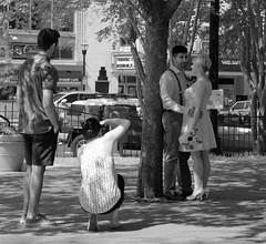 Posing in the Park (tvdflickr) Tags: lumix lx100 panasonic marietta square park georgia photographer posing wedding bride groom weddingphotography assistant spring street thomasdriggersphotography photobytomdriggers photosbytomdriggers