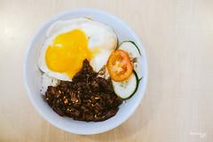 Beef Tapa Rice Meal (Daniel Y. Go) Tags: food fuji rice beef philippines egg xpro2 beeftapa fujixpro2 dripcafe