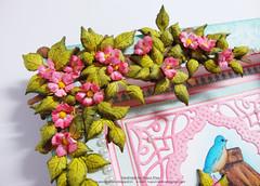 Birds & bloom frame close up 3 (Nupur Creatives) Tags: heartfelt creations heartfeltcreations