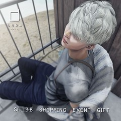 SL13B Shopping Event Gift (Chi('')) Tags: male hair mens tmd dura secondlife new