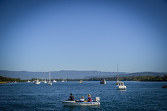 Relaxing at Greenwell Point (Visit Shoalhaven) Tags: river point coast back south sit escarpment shoalhaven greenwell