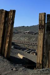 I_B_IMG_7459 (florian_grupp) Tags: china railroad train landscape asia mine desert muslim railway steam xinjiang mikado locomotive ore js steamlocomotive 282 opencastmine yamansu