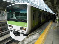 E231 (7) (Transrail) Tags: tokyo emu yamanoteline jreast e231 electricmultipleunit tokaidomainline eastjapanrailwaycompany kawasakiheavyindustries tokyucarcorporation