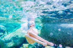 aqua (AZURE_TB) Tags: nikon underwater dollfiedream aw1 nikon1  dd