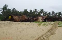 Arossim grounded Pontoon day 66 (joegoauk73) Tags: beach goa tug pontoon grounded joegoauk