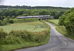 222 (Geoff Griffiths Doncaster) Tags: mill trains east meridian 222 midlands unit slitting