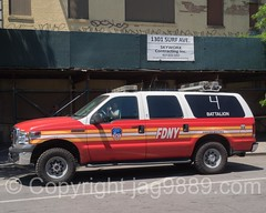 FDNY Battalion 4 Fire Chief Vehicle, Coney Island Mermaid Parade 2016, New York City (jag9889) Tags: 2016 20160618 auto automobile battalion bravest brooklyn car coneyisland fdny firedepartment firedepartmentofthecityofnewyork firefighter firstresponder ford fordexcursion kingscounty ny nyc newyork newyorkcity newyorkcityfiredepartment newyorksbravest outdoor suv sportutilityvehicle surfavenue transportation usa unitedstates unitedstatesofamerica vehicle jag9889