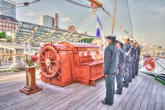auf dem Segelschulschiff Cuauhtemoc (Krnchen59) Tags: port pentax hamburg hafen landungsbrcken elke sailingship mexiko cuauhtemoc k7 dreimaster krner besichtigung segelschulschiff krnchen59