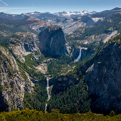 Yosemite 2016 (hermitsmoores) Tags: vacation 6x6 nature mediumformat square woods nikon hiking lakes roadtrip yosemite halfdome fullframe fx forests yosemitevalley d800 vernalfalls nevadafalls onewithnature nikkor2870mmf28 highsierraloop nikond800