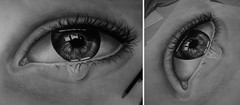 tears (Monalisa Borges) Tags: eyes tears crying realism realistic