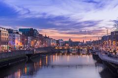 DUBLIN, the LIFFEY RIVER. (rey_claude) Tags: bridge dublin architectural liffey couchdesoleil riverfall nikond7100