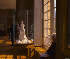 Rodin museum. (victoriabrush) Tags: light shadow paris france april statuary contemplation museerodin takemyhand