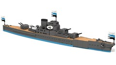 Class Frigate (Prussian Prince) Tags: ray ship lego pov render rhodes moc