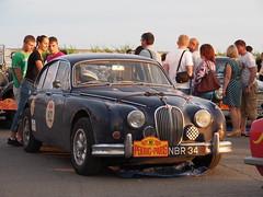 1959 - Jaguar MkII (Jasonito) Tags: paris classic car russia rally olympus retro oldtimer motor  omsk challenge peking 6th omd the 2016    em5   parispeking beijingparis   panasonic14140mmf4058 omdem5