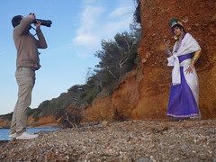Shooting Sinbad - Magi, the Labyrinth of Magic - Giens - 2016-06-03- P1410813 (styeb) Tags: shooting sinbad magithelabyrinthofmagic giens presquile 2016 juin 03 mer tombee nuit madrague reserve naturelle