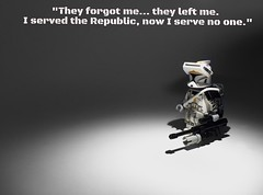 Forgotten... ([B]ryce) Tags: trooper star lego clones wars legion 253rd