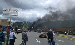 Enfrentamientos en Duitama1 (Peridico ELDIARIO Boyac) Tags: paro camionero boyac muerto noticias duitama