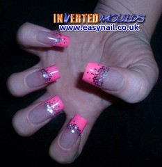 Ami Pink (invertednailsystems) Tags: uk pink orange black art yellow glitter training silver gold amazing neon pretty im nail powder course nails salon technician extension inverted false ims extensions nailart courses moulds enuk invertednailsystems easynail easynailuk