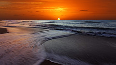 42-31294302 (manhhung) Tags: ocean morning light sea orange sun seascape motion color beach latinamerica southamerica water argentina beauty sunshine sunrise outdoors coast waves horizon shoreline scenic illumination nobody shore serenity receding daytime watersedge majestic dramaticsky idyllic miramar foreshore lighteffect beautyinnature horizonoverwater marinescene