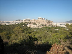 149 - Acropolis from Filipappas Hill (Scott Shetrone) Tags: forest other scenery events places athens parthenon greece monuments acropolis 5th anniversaries