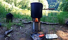 SoloStove (HeathMcConnell) Tags: oregon lakecreek solostove uploaded:by=flickrmobile flickriosapp:filter=nofilter