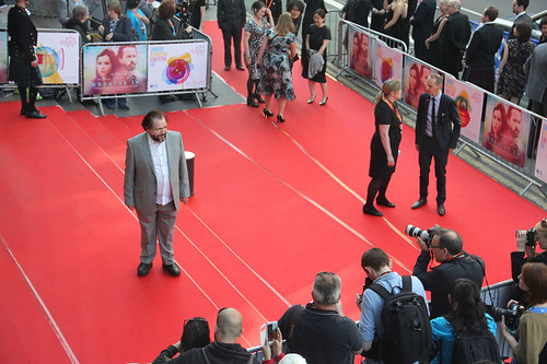 Brian Cox arriving at the European premiere of Breathe In at Festival Theatre