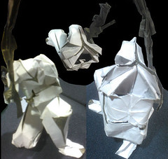 Clone Trooper Final (Star Wars) (o'sorigami) Tags: art paper origami complex paperfolding folding ousa2013