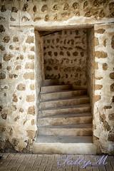 Old Stone Stairway (SallyMPhotography) Tags: house arabic stonewall historichome unitedarabemirates stonestaircase