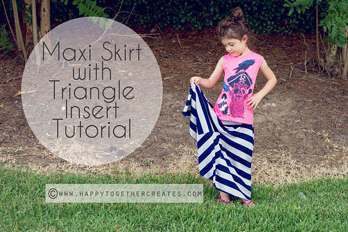 diy sewing howto easy tutorial maxiskirt knitfabric