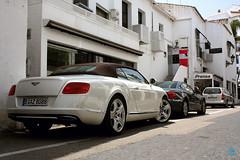 Cream Cruiser (Stuartyvilla) Tags: cars marina puerto continental ferrari exotic rosso bentley marbella f430 corsa gtc banus carspotting 599 carspotter ferrari458 carspottinguk carspottingspain
