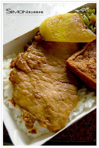 圓光肉排餐盒0