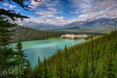 Fairmont Chateau - Lake Louise (PhotoToasty) Tags: canada mountains rockies hotel alberta lakelouise fairmontchateau
