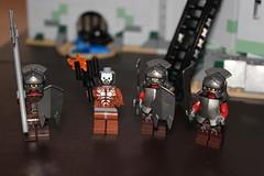 The Baddies (Vik_O) Tags: lego lordoftherings fortress tolkien rohan middleearth urukhai thetwotowers orcs battleofhelmsdeep rohirrim sarumansarmy