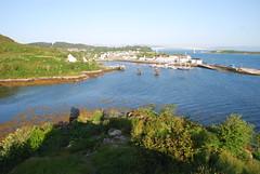 Kyleakin Skye (Joybelle007) Tags: bridge skye water beautiful boats scotland nikon scenery harbour kyleakin d80