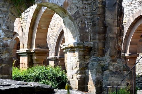 Memleben (Saxe-Anhalt), ruines de l'abbatiale - 07