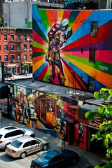 View from the High Line (Ayolt de Roos) Tags: street new york city nyc summer usa streetart newyork color art love colorful highline