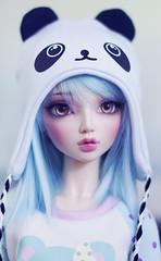 BJD Panda Hat Preview (Cyristine) Tags: hat ball doll panda handmade sd kawaii bjd jointed