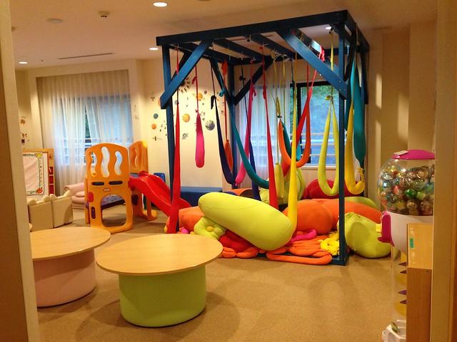 こちらは、ちょっと年上の子供が遊べるキッズルームです。|ホテルグリーンプラザ軽井沢