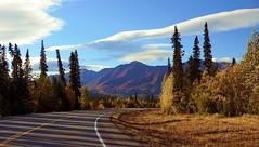 Autumn in Alaska . . Explored (JLS Photography - Alaska) Tags: road travel autumn mountain mountains fall nature alaska america landscape landscapes fallfoliage wilderness beautifulscenery coloredleaves northof60 lastfrontier alaskalandscape alaskanscenery alaskanlandscape jlsphotographyalaska