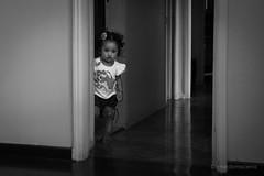 Hiding (Bernardo Macena) Tags: sunset portrait rio afternoon child kind lagoa enfant
