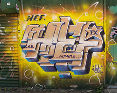 Hef Humble (cnmehring) Tags: streetart newyork williamsburg