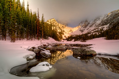 Winter's Fade (Shannon.mountainman) Tags: color landscapes lakes rmnp fineartphotography earlyspring dreamlake